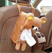 Lovely Cute Rilakkuma Cute Plush Car Tissue Box Cover w/Strap