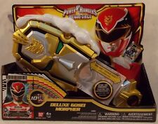 Power Rangers Megaforce - Electronic Deluxe Gosei Morpher By Bandai MIP 10 Cards