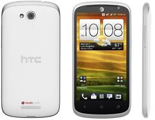 HTC One VX Silver/White 3G 4G LTE Dual-Core 1.2GHz AT&T Unlocked Android - N/O
