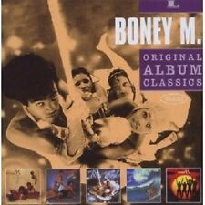 "Boney M. ""Original Album Classics"" 5 CD NUOVO"