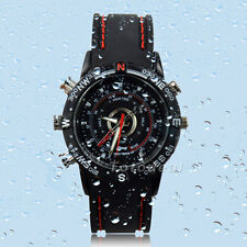 NEW HD Stylish Wrist Watch 8GB DV DVR Spy Camera Camcorder Video Waterproof  TK