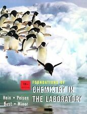 Foundations of Chemistry in the Laboratory-ExLibrary