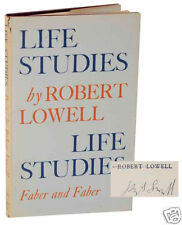 Robert Lowell Life Studies Signed 1st Edition Hardcover 1959 Uncommon