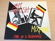 EX-/EX- !! Jah Woosh Meets Mixman/Fire Inna Blakamix/1993 Blakamix LP