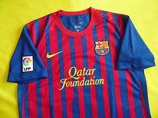 4.9/5 FC BARCELONA 2011/2012 NIKE ORIGINAL SHIRT JERSEY CAMISETA era PUYOL PIQUE
