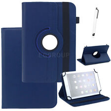 "360 Rotating PU Leather Stand Case Cover Universal For 9"" 9.7"" 10.1"" inch Tablet"