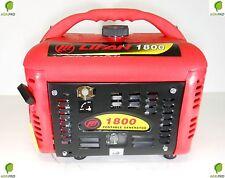 Gruppo elettrogeno generatore di corrente KW 1 benzina 4 tempi portatile V 220