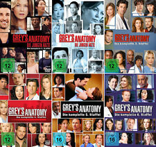 GREY'S GREYS ANATOMY 1-6 KOMPLETTE DVD STAFFEL 1 2 3 4 5 6 DEUTSCH