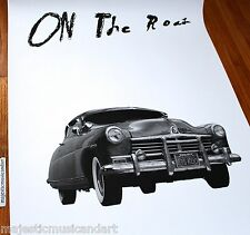 ED RUSCHA ON THE ROAD ORIGINAL NEW YORK CITY GALLERY POSTER JACK KEROUAC
