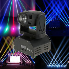 50W RGBW Beam LED Moving Head Stage Light DMX-512 DJ Disco Bar Party Lighting