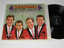 THE 4 SEASONS Sing Bermuda & Spanish Lace / THE BARRONS SING LP Guest Star G1481
