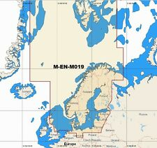 C MAP MAX MEGAWIDE MW4 M-EN-M019 NORTH AND BALTIC SEAS SD-CARD