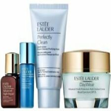 Holliday Gift Set Estee Lauder DayWear + Day&Night Serums + Travel Sz Cleanser