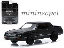 GREENLIGHT 27790D 1984 84 CHEVROLET MONTE CARLO SS 1/64 BLACK BANDIT