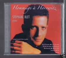 STEPHANE BLET CD NEW HOMMAGE A HOROWITZ / BIZET/ RACHMANINOV/ ERROLL GARNER
