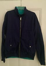 Authentic Marc by Marc Jacobs twilight blue reversible rare vintage jacket XL