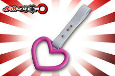 Brand New Pink Heart TSURIKAWA - JDM / Bosozoku Ring - Train Handle Drift