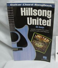 guitar chord songbook hillsong united - 65 songs lyrics chords symbols guitar
