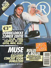 MAGAZINE OOR 2003 nr. 14/15 - MUSE/COLDPLAY/LED ZEPPELIN/R.E.M./SOLOMON BURKE