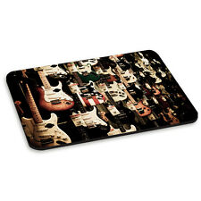 Electric Guitar Wall Rock Country Music PC Computer Mouse Mat Pad