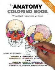 The Anatomy Coloring Book (4th Edition), New, Free Shipping