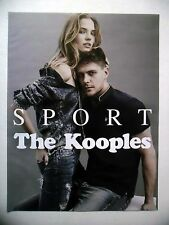 PUBLICITE-ADVERTISING :  THE KOOPLES  Sport  2016 Mode