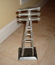 METAL TRAIN ELECTRIC POWER LINE TOWER 10-1/2 INCHES HIGH LIONEL MARX ? POST WAR