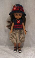 """LES CHERIES Corolle 13"""" Doll Clothes #27 Top, Hat & Skirt Set   14"""" Betsy McCall"""