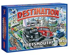 Destination Portsmouth The Board Game 10th Anniversary Family Kids Fun Xmas Gift