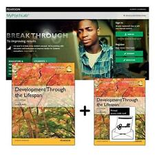 NEW Value Pack Development Through the Lifespan + MyPsychLab with eText By Berk