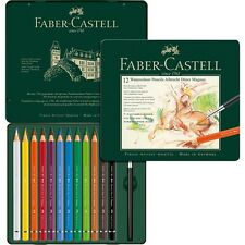 Faber Castell Albrecht Durer Magnus Watercolour Pencils 12 Tin - Large Diameter