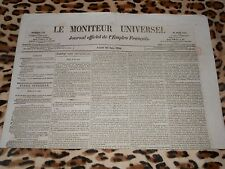 LE MONITEUR UNIVERSEL, journal officiel de l'empire français, n° 179, 28/06/1858