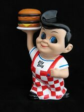 2013 Frisch's, Bobs or Shoneys Big Boy Coin Bank with Hamburger-NICE