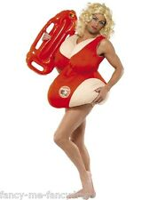 Mens Female Baywatch Lifeguard 90s 1990s TV  Stag Do Fancy Dress Costume Outfit