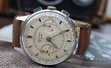 SEKONDA POLJOT 3017 STRELA CHRONOGRAPH SPACE WATCH MADE IN USSR c1960-STUNNING!