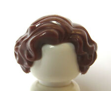Lego1 Hair Wig For Female Girl Minifigure Brown  Movie Star Marilyn Style