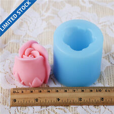 3D Rose Flower Silicone Soap Molds Resin,Clay Crafts Form Jelly Pudding Mould