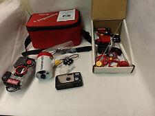 Lot of 2 Ikelite Aquashot 3+Aquashot II Underwater Camera Housings+ Extras (G5)