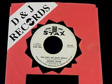 JOHNNIE TAYLOR~ YOU CAN'T GET AWAY FROM IT~ VG~PROMO~ IF I  HAD IT TO ~ SOUL 45