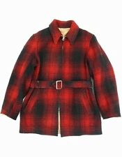 Vintage 40s LAKELAND Mackinaw Style PLAID Reversible HUNTING Jacket COAT 42 O2