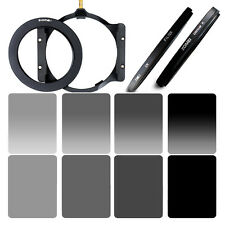 ZOMEI 100mm Square Full Color Filter Kit ND2 4 8 +77 Ring+CPL UV For COKIN Z LEE