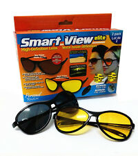 Kawachi Smart View Elite High Definition Sport Sunglasses Yellow & Black K313