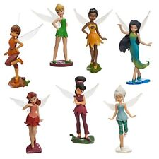 DISNEY FAIRIES Doll Play Set Toy Action Figure Tinker Bell Fawn Periwinkle Vidia