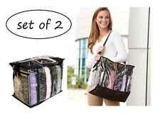 2 set YARN 6 skein holder Crocheting knitting Organizer tote Bag no Tangle Free