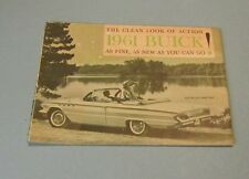 1961 Hyattsville Maryland Buick Automobile Dealer Plan For Spring Ad Brochure