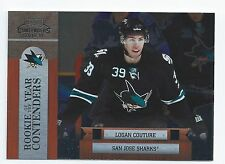 Logan Couture 2010-11 Playoff Contenders Rookie of the Year  Insert Card
