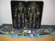 Halo Evolution Exclusive Master Chief 2004 Tin Set Bungie/ Joyride NEW