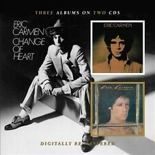 Eric Carmen/Boats Against the Current/Change of Heart by Eric Carmen CD