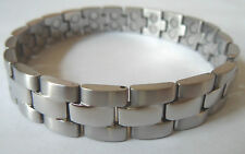 "Quality Mens Stainless Steel MAGNETIC BRACELET 8.25"" 21cm for Blood Circulation"