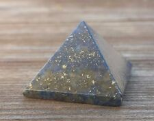 NATURAL LAPIS LAZULI SMALL GEMSTONE PYRAMID 20-22mm